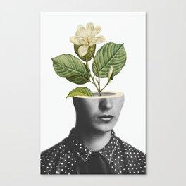 Frida In Bloom Canvas Print