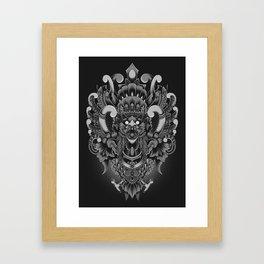 Majestic Garuda Framed Art Print