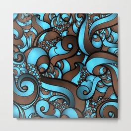 Mesmerizing waves Metal Print