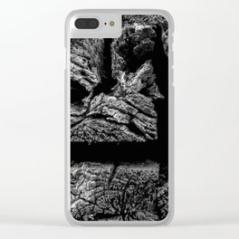 Railroad Ties Clear iPhone Case