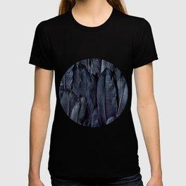 Mystic Black Feather Close Up T-shirt