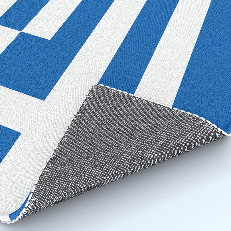 Flag Of Greece Greek Flag Rug By Flags Society6
