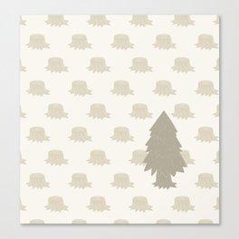 The Last Christmas Tree Canvas Print