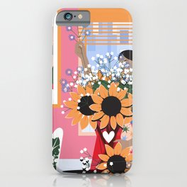 Plant Girl #5 iPhone Case