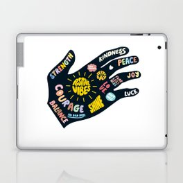 Positivity – Helping Hand Laptop & iPad Skin