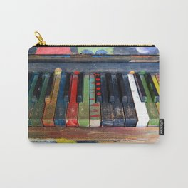 Painted Piano Carry-All Pouch