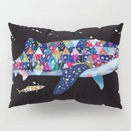 Geomatric Shark Pillow Sham