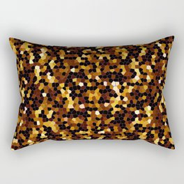 Mosaic Texture G37 Rectangular Pillow