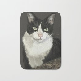 Cat Eightball Bath Mat