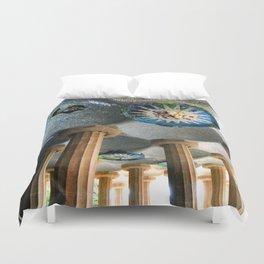Gaudi Series - Parc Güell No. 2 Duvet Cover