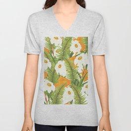 Summer Narcissus Unisex V-Neck