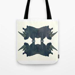 Siamese Rhinos.  Tote Bag