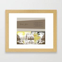 Spread 2 Framed Art Print