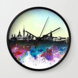 Design 106 Ottawa Skyline Wall Clock