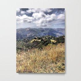 Topanga Canyon Metal Print