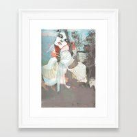 death Framed Art Prints featuring Death  by Felicia Cirstea