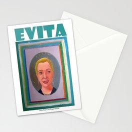 Evita por Diego Manuel Stationery Cards
