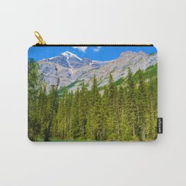 Mt. Robson and the Robson River in British Columbia, Canada Carry-All Pouch