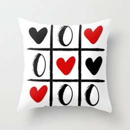 XO LOVE HEART SPECIAL - Valentines Day Throw Pillow
