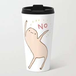 Honest Blob Says No Travel Mug