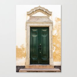 Old door in Tavira, Portugal Canvas Print