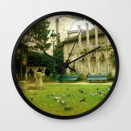 Quaint Paris Wall Clock