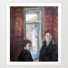 Hawthorne's Window Art Print