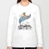 camus Long Sleeve T-shirts featuring Invincible Summer by Brooke Weeber