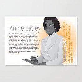 STEM Women 02 - Annie Easley Canvas Print
