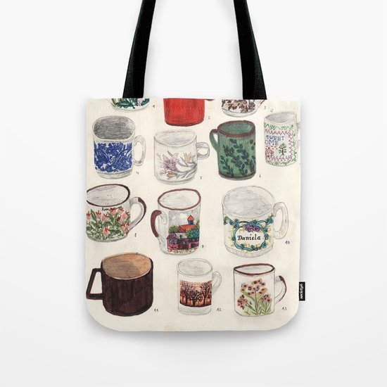Cups Tote Bag