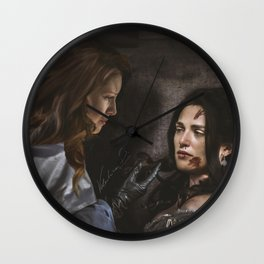 Supercorp - fan art Wall Clock