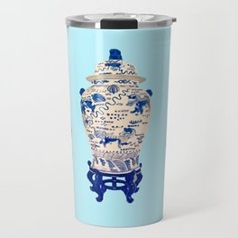 Tsochtkes and Ginger Jar Travel Mug