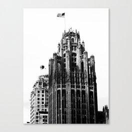 Tribune Tower, Chicago Canvas Print