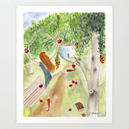 Hold the Summer! Art Print