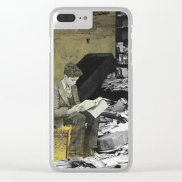 Reader Clear iPhone Case