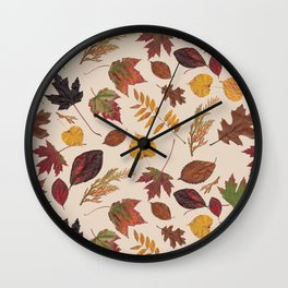 Aurora Autumn Wall Clock