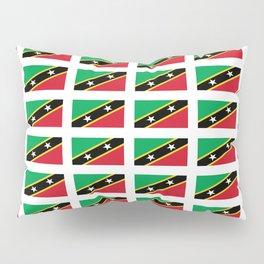 Flag of Saint Kitts and Nevis-Saint Christophe,Saint Kitts,Nevis,Kittian,Nevisian Pillow Sham