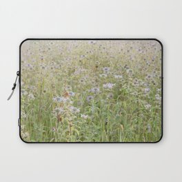 Wildflowers in the morning Laptop Sleeve