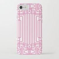 rockabilly iPhone & iPod Cases featuring rockabilly lines by La Señora
