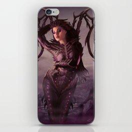 Queen of Blades iPhone Skin