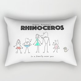 In a Family Near You Rectangular Pillow