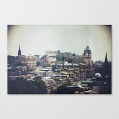 scottish nostalgia Canvas Print