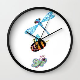 The Flying Ones Wall Clock