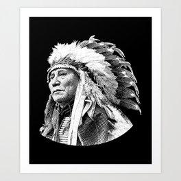 Chief Hollow Horn Bear Graphic Art Print
