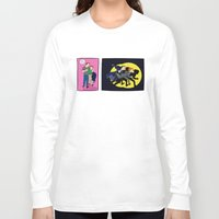 dana scully Long Sleeve T-shirts featuring Aliens, Scully! by Anna Valle