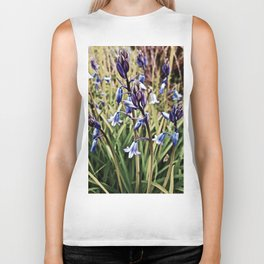 Bluebells, Magical Flowers Of Spells Biker Tank