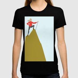 Mountain Woman Illustration T-shirt