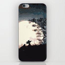 Serenading The Moon iPhone Skin