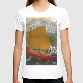 "Odilon Redon ""La Voile jaune (The Yellow Sail)"" T-shirt"