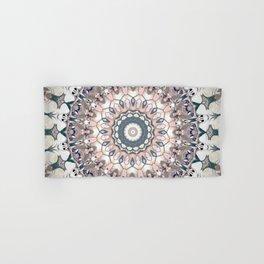 Pastel Boho Chic Mandala Design Hand & Bath Towel